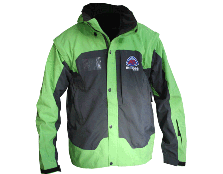 Alta Jacket (Mt Rose) – Charcoal/Green Apple