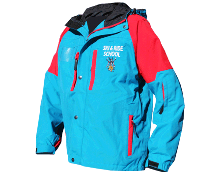 Blaster Jacket (Ski Apache) – Teal/Red