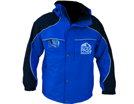 Fusion Jacket (Willamette Pass) Doppelmayr Blue/Black/Emerald