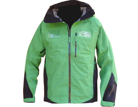 3-Layer Boundary Peak Jacket (Whitetail Resort) – Kelly Green/Black