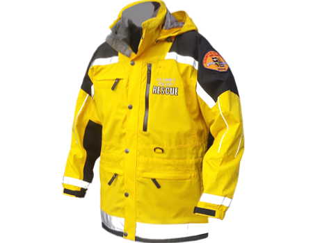 Isobar Jacket (LA County Fire Department)  –  Yellow/Black