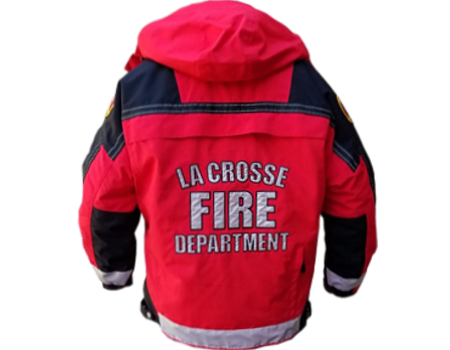 Isotherm 3-Season Jacket (La Crosse)  –  Red/Black
