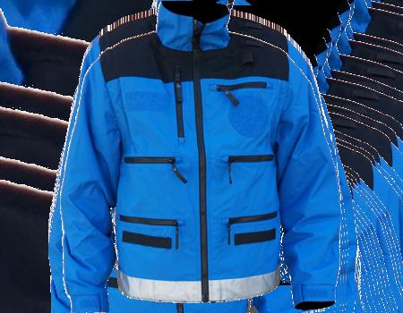 Radio Jacket w/ Shock Cord (VDEM) – Tahoe Blue/Blk