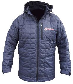 Zephyr Insulator Jacket (Diamond Peak Race) Black