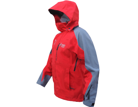 3-Layer Boundary Peak Jacket (Magic Mountain Snowsports) – Red/Gray