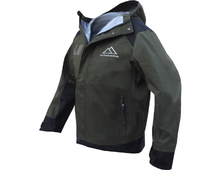 3-Layer Franconia Jacket (Mt. Shasta Operations) – Forest/Black