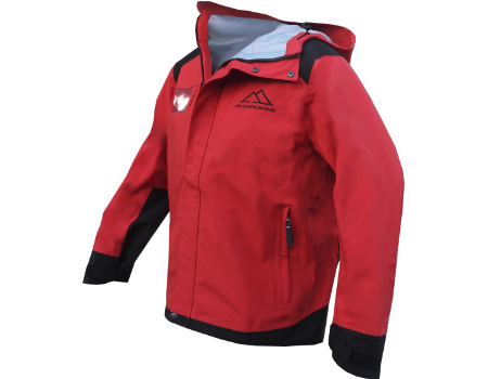 3-Layer Franconia Jacket (Mt. Shasta Snowsports) – Berry/Black