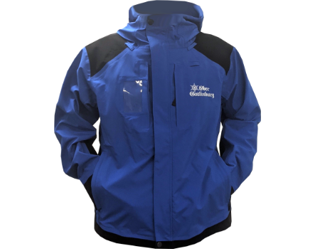 3-Layer Franconia Jacket (Ober Gatlinburg Operations) – Blue/Black