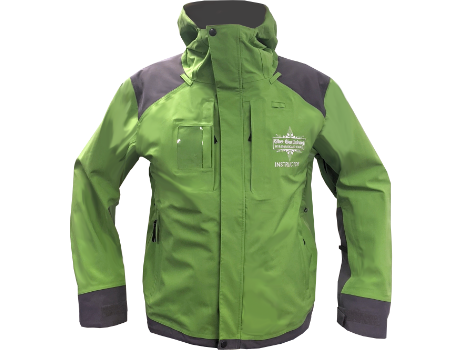 3-Layer Franconia Jacket (Ober Gatlinburg Snowsports) – Green Apple/Charcoal