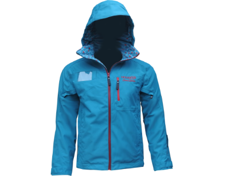 3-Layer Boundary Peak Jacket  (Holimont Snowsports) – Teal/Berry