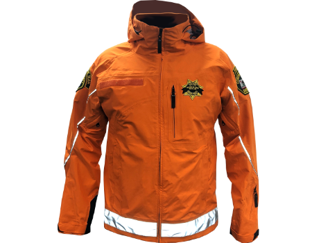 3-Layer Boundary Peak (Sonoma County SAR) – Orange/Black w/Reflective