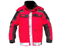 Isotherm 3-Season Jacket Red/Black..