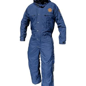 Cold-weather Jumpsuit - CHP Blue, Regular, with Patches