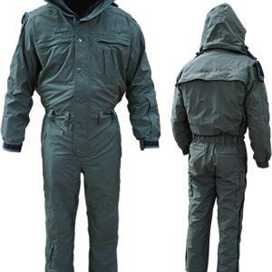 Cold-weather Jumpsuit , Forest/Forest, Regular