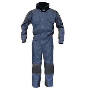 Cold-weather Jumpsuit- LAPDBlue/Black, Tall