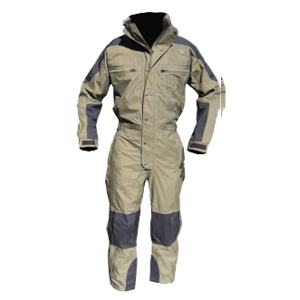 Cold-weather Jumpsuit, Olive/Black, Regular
