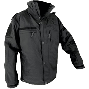 Virga Jacket, black/black w/removable insulated lining