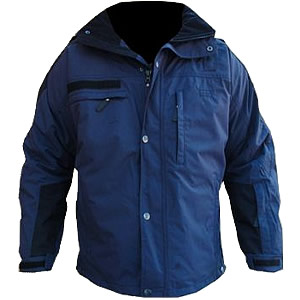 Virga Jacket, LAPD blue/Black, with Reflective and removable insulated liner