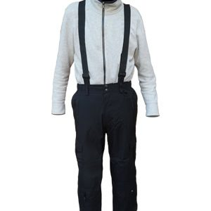 Original Cargo Pant with removable Suspenders, Black, Regular