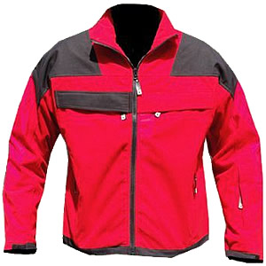 Softshell Jacket - Red/Black..