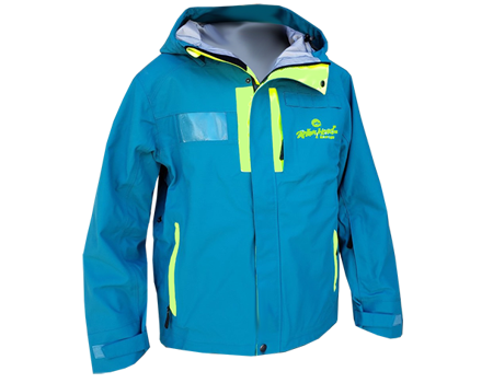 3-Layer Franconia Jacket (Brian Head Snowsports) – Teal/Neon Yellow
